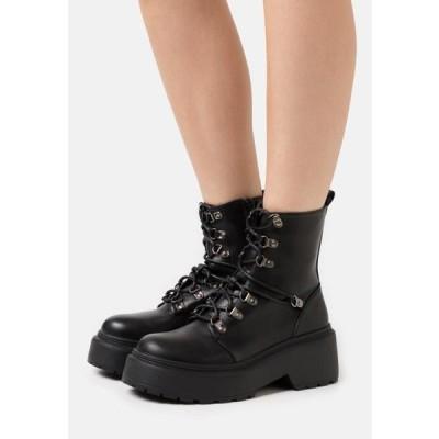 レディース ブーツ JACKSON - Lace-up ankle boots - black