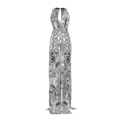 ジャストカヴァリ JUST CAVALLI ロングワンピース&ドレス ブラック 40 レーヨン 100% ロングワンピース&ドレス
