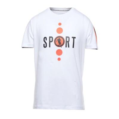 ビッケンバーグ BIKKEMBERGS T シャツ ホワイト S コットン 92% / ポリウレタン 8% / ポリエステル T シャツ