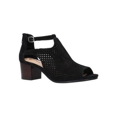 ベラヴィータ サンダル シューズ レディース Women's Amara Sandals Black Suede