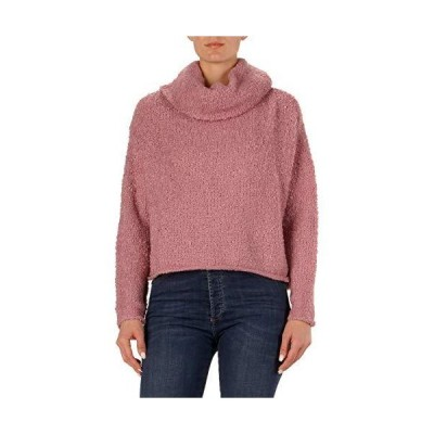 並行輸入品Elan レディース オーバーサイズ ファジータートルネックセーター US サイズ: Small カラー: パープル