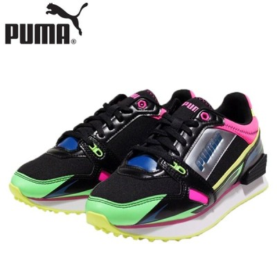 ↓プーマ PUMA マイルライダー サニー ゲートウェイ ウィメンズ 靴 373443-02