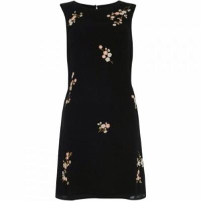 フェイズ エイト Phase Eight レディース ワンピース ワンピース・ドレス Hina Embroidered Dress Black
