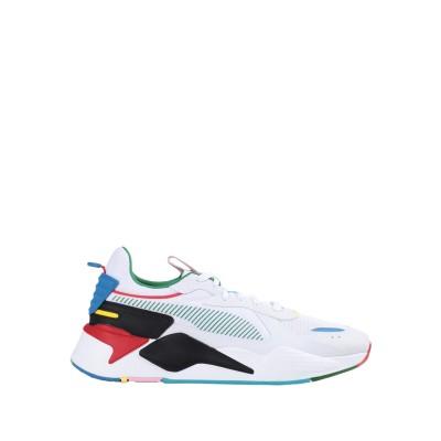 プーマ PUMA スニーカー&テニスシューズ(ローカット) ホワイト 9.5 紡績繊維 スニーカー&テニスシューズ(ローカット)