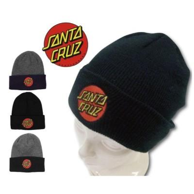 ☆SALE☆【ネコポスOK!!】【3カラー!!】SANTA CRUZ  KNIT CAP サンタクルーズ ニットキャップ[CLASSIC DOT]