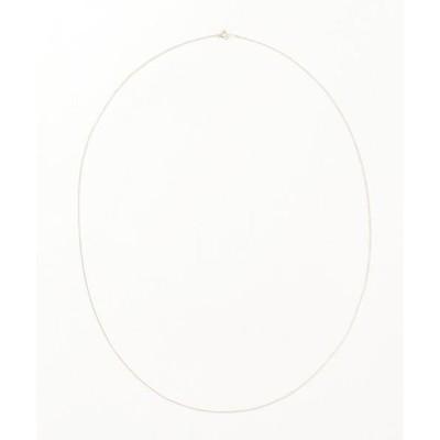 ネックレス K10YG 小豆チェーンネックレス 70cm