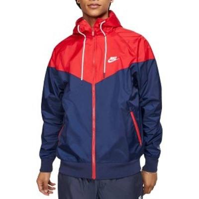 ナイキ メンズ ジャケット・ブルゾン アウター Nike Men's Sportswear 2019 Hooded Windrunner Jacket (Regular and Big & Tall) Mdnght