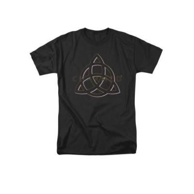 Tシャツ チャームド Charmed TV Show Triple Linked Logo Licensed Adult Shirt S-3XL