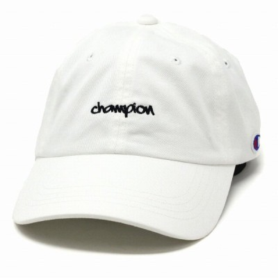 チャンピオン キャップ メンズ レディース カジュアル 帽子 オールシーズン ミニロゴ キャップ スポーツ champion cap オフホワイト 父の日
