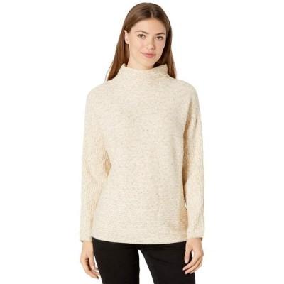 マックススタジオ レディース ニット・セーター アウター Long Sleeve Mock Neck Sweater