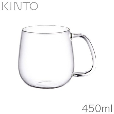 KINTO キントー UNITEA ユニティ カップ M ガラス (350ml) 8291
