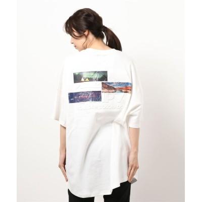 Right-on / 【CAMP7】フォトエンボスTシャツ WOMEN トップス > Tシャツ/カットソー