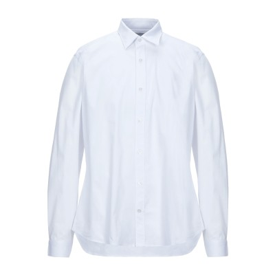 CAMIS!A DE-LUXE シャツ ホワイト 43 コットン 97% / ポリウレタン 3% シャツ