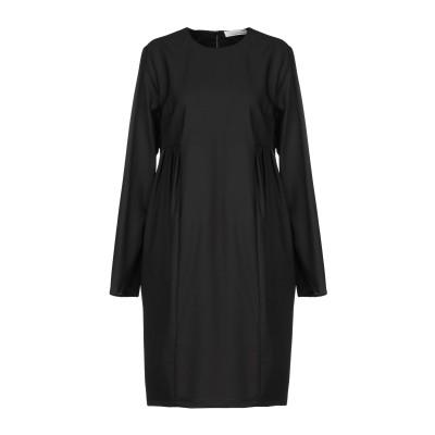 リビアナ コンティ LIVIANA CONTI ミニワンピース&ドレス ブラック 44 バージンウール 100% ミニワンピース&ドレス