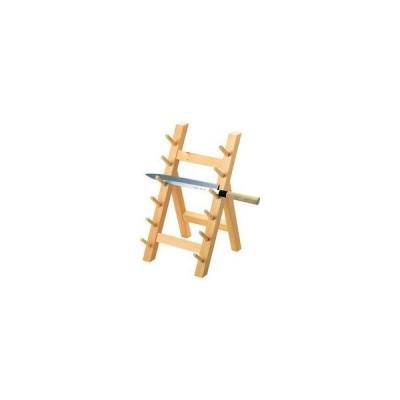 YAMACO/ヤマコー  木製 庖丁掛け 6段(10301)