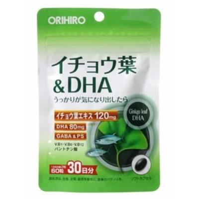 【PD イチョウ葉&DHA 60粒入】
