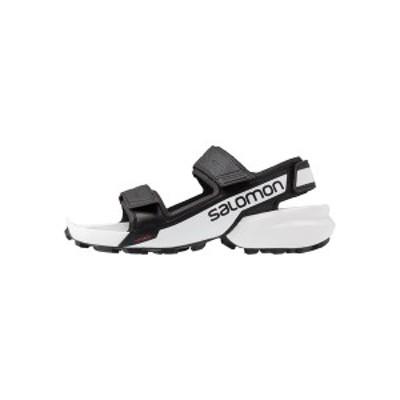 サロモン メンズ サンダル シューズ SPEEDCROSS  - Walking sandals - black/white black/white
