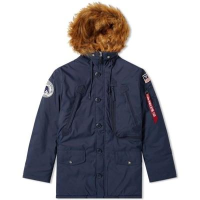 アルファ インダストリーズ Alpha Industries メンズ ジャケット アウター Polar Jacket Replica Blue