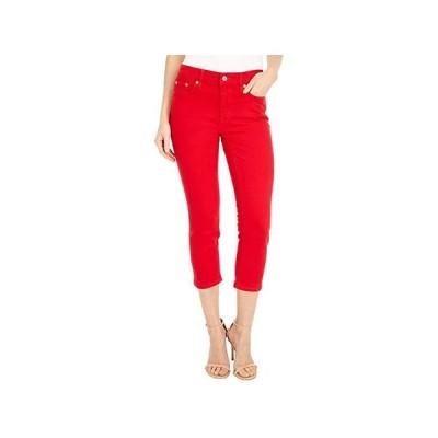 LAUREN Ralph Lauren Petite Premier Straight Crop Jeans in Bold Red Wash レディース ジーンズ Bold Red Wash