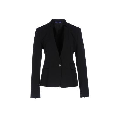 ブルー レ・コパン BLUE LES COPAINS テーラードジャケット ブラック 46 ポリエステル 90% / ポリウレタン 10% テーラー