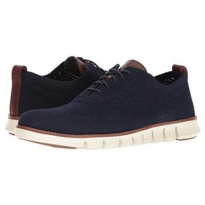 コールハーン Zerogrand Stitchlite Oxford メンズ スニーカー 靴 シューズ Marine Blue/Ivory