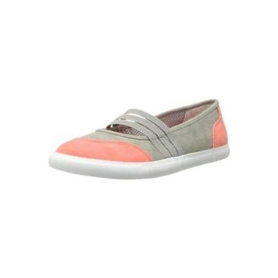 ライフストライド フラッツ オックスフォード シューズ 靴 LifeStride 6253 レディース Inform グレー キャンバス Mary Janes シューズ 6.5 ミディアム (B,M)