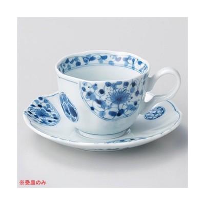 ホ605-087 花伊万里コーヒー受皿