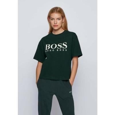 ボス レディース ファッション EVINA - Print T-shirt - open green