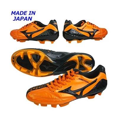 ミズノ WAVE イグニタス 4 JAPAN オレンジ×ブラック 25.5cm