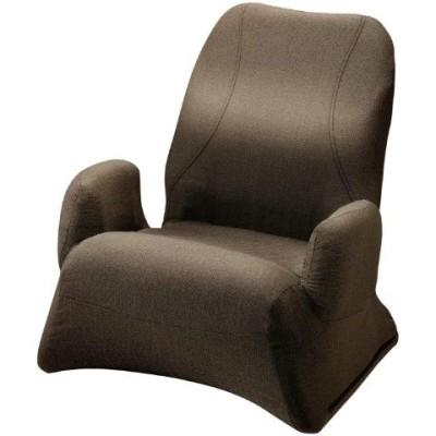 勝野式 美姿勢習慣くつろぎプレミアム 座椅子  座椅子 椅子 いす リクライニングチェア 腰痛 テレワーク 肘掛け 一人掛け 折りたたみ コンパクト リクライニング   メイダイ   【送料無料】