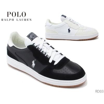 POLO ポロ ラルフローレン スニーカー RD03 コートシューズ メンズ 靴 正規品