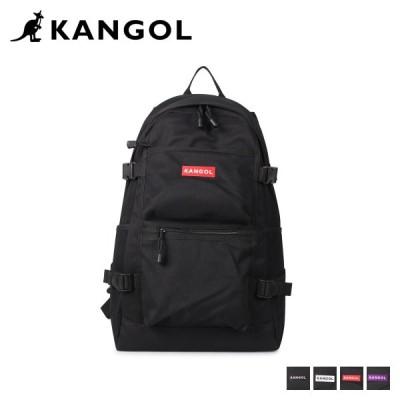 カンゴール KANGOL リュック バッグ バックパック メンズ レディース 23L HELLO D BAG ブラック ホワイト レッド パープル 250-1250