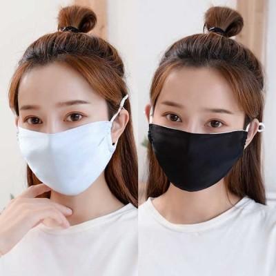 シルクマスク シルク 洗えるマスク マスク 繰り返し使える 絹 花柄 無地 春 夏 レディース 大人 薄手 おしゃれ 花粉症対策 ウイルズ対策 柔らか 通気性