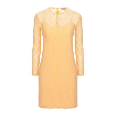 NINA RICCI ミニワンピース&ドレス あんず色 34 ナイロン 100% ミニワンピース&ドレス