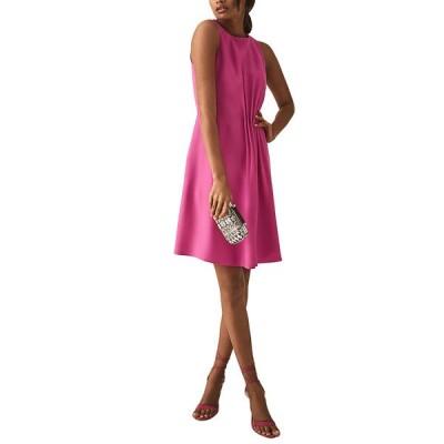 レイス ワンピース トップス レディース Reiss Nadia Midi Dress pink