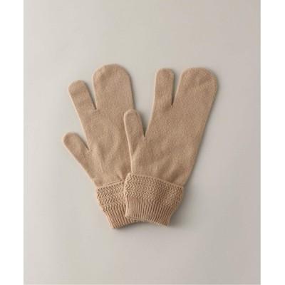 アンフォロー 【MAISON MARGIELA / メゾン マルジェラ】gauge 7 glove キャメル S
