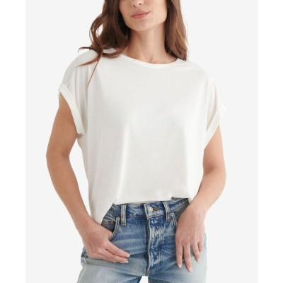 ラッキーブランド レディース シャツ トップス Sandwash T-Shirt