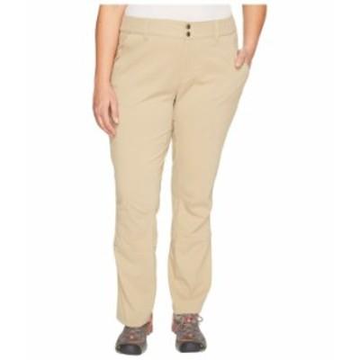 コロンビア レディース カジュアルパンツ ボトムス Plus Size Saturday Trail Pants British Tan