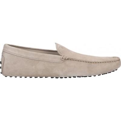 トッズ TOD'S メンズ ローファー シューズ・靴 loafers Light grey