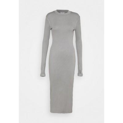 ウィークデイ ワンピース レディース トップス ELLA DRESS - Jumper dress - grey medium dusty