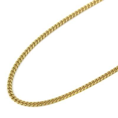ノーブランド 喜平 2面 シングル 全長約 49.5cm 約 20.1g ネックレス ユニセックス K18イエローゴールド ジュエリー ゴールド 中古 送料無料