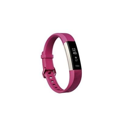 アクティビティトラッカー フィットビット Fitbit Alta HR Fuchsia Fitness Wristband # Large