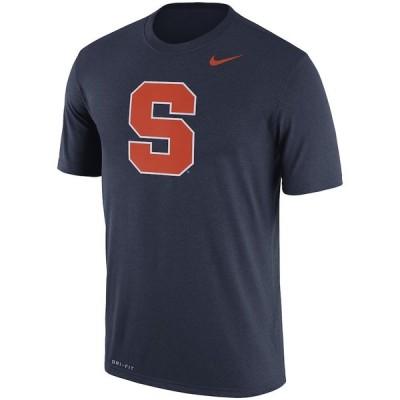 ナイキ メンズ Syracuse Orange Nike Logo Legend Dri-FIT Performance T-Shirt 半袖 Tシャツ ドライフィット Navy