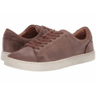 Frye フライ レディース 女性用 シューズ 靴 スニーカー 運動靴 Ivy Low Lace Chocolate Waxed Vintage Suede【送料無料】