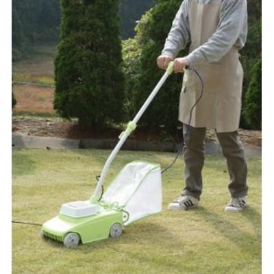 【アイリスオーヤマ】【園芸機械】電動芝刈機  G-200N ホワイト/ライトグリーン(177309)【送料無料】 (ガーデニング、芝刈り機、作