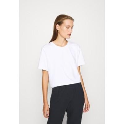 アーケット レディース Tシャツ トップス Basic T-shirt - white light white light