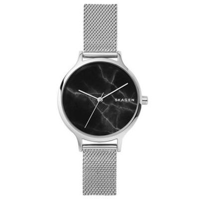 新作 スカーゲン レディース アニタ ブラック シルバー メッシュ SKW2673 腕時計