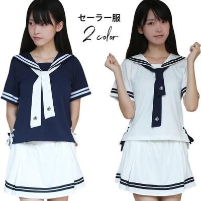 セーラー服 コスプレ服 女子高生 服制 フレアスカート LT-2511