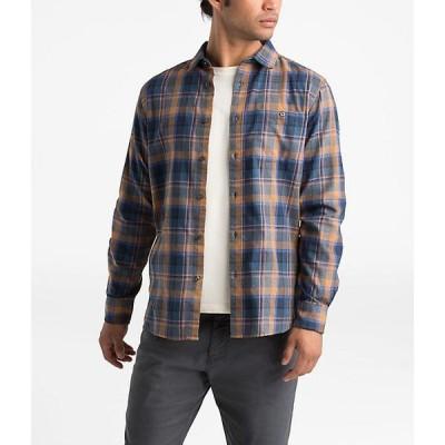 【本日限定point最大18倍!!】(取寄)ノースフェイス メンズ ヘイデン パス 2.0 LS シャツ The North Face Men's Hayden Pass 2.0 LS Shirt Cedar Brown Rogan Pl
