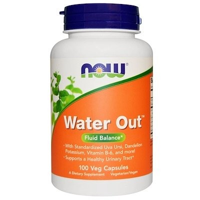 Water Out, Fluid Balance, 100 Veg Capsules